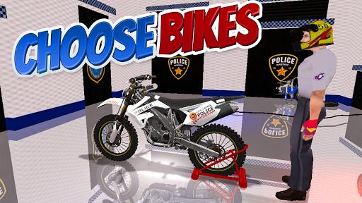 Police Bike Stunt Games : 3D Mega Ramp Stunts Game  screenshots 3