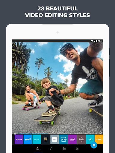 Quik u2013 Free Video Editor for photos, clips, music 5.0.7.4057-000c9d4b4 Screenshots 9