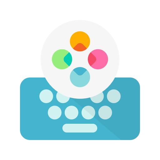 Fleksy- Emoji & gif Clavier