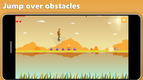 Unicycle Dash – Motion controlled runner Hack for iOS and Android 4