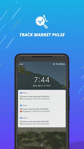 WazirX - Bitcoin, Crypto Trading Exchange India android2mod screenshots 6