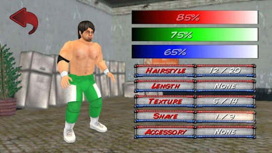 Wrestling Revolution 3D Screenshot