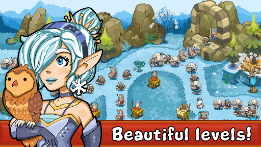 Tower Defense Kingdom: Advance Realm apkslow screenshots 9