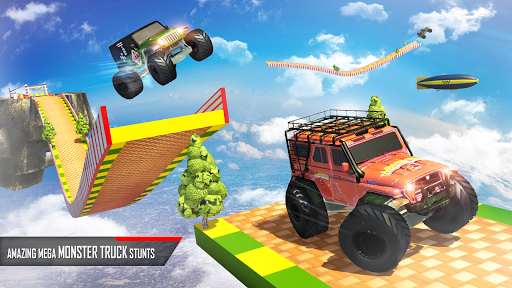 Monster Truck Game: Impossible Car Stunts 3D  screenshots 1