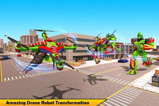 Drone Robot Transforming Game 2.3 screenshots 3