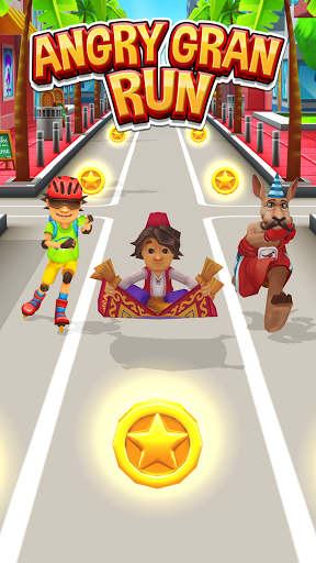 Angry Gran Run - Running Game  screenshots 4