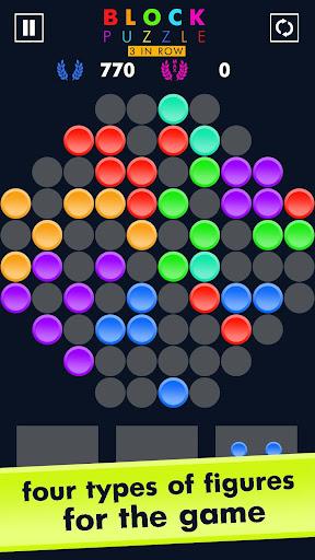 Block Puzzle Match 3 Game apktram screenshots 2