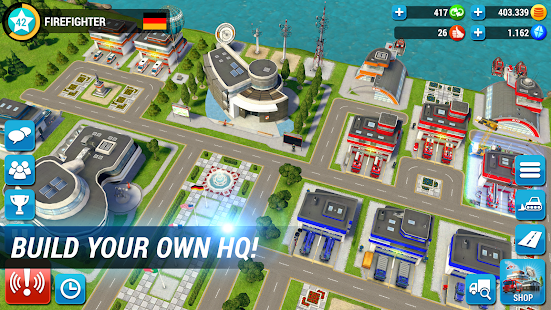EMERGENCY HQ - firefighter rescue strategy game Unlimited Money