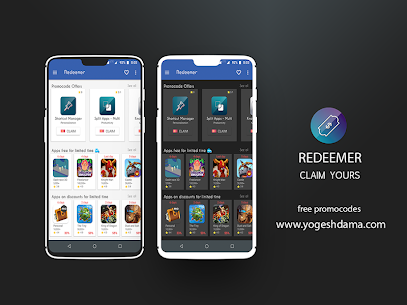 Redeemer – free promocodes & paid apps sales Apk v1.12 (Paid) 1