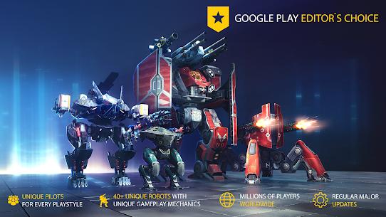 War Robots Mod Apk Unlimited Gold v6.8.1 1