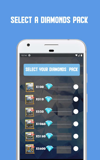 FF Blue   Free Diamonds Calculator dual function apktram screenshots 2