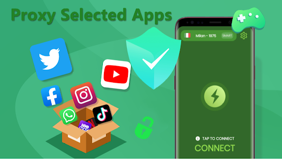 VPN ITALY - Unlimited Proxy & Fast Unblock Master