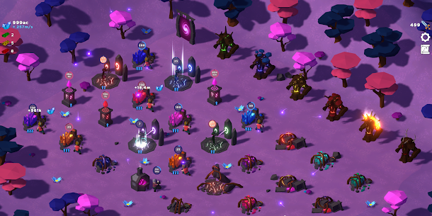 Swarm of Destiny: Fantasy World AfK Idle RPG Mix Mod Apk (Unlimited Money) 7
