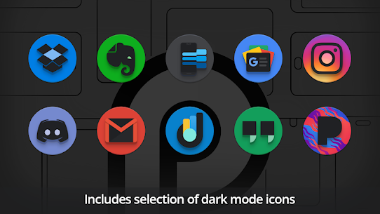 PieCons Apk- Ultimate Android Pie Icon Pack 3.6 (Patched) 9