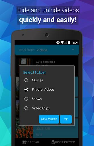 Video Locker - Hide Videos 2.1.3 Screenshots 1