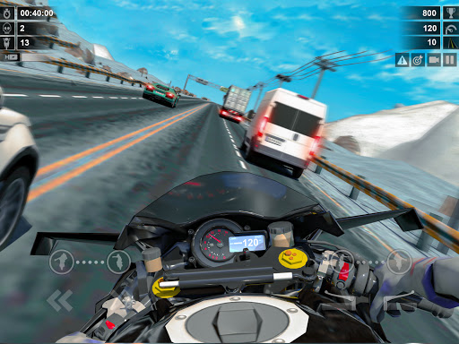 Traffic Racer: Dirt Bike Games apkdebit screenshots 17