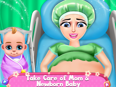 Pregnant Mommy And Baby Care: Babysitter Games 1