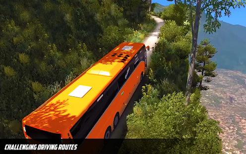 Bus Simulator: Hill Coach Driving Bus Sim Mod Apk