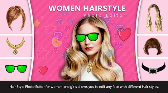 Women Hairstyle Photo Editor, Hair Style App 1.1