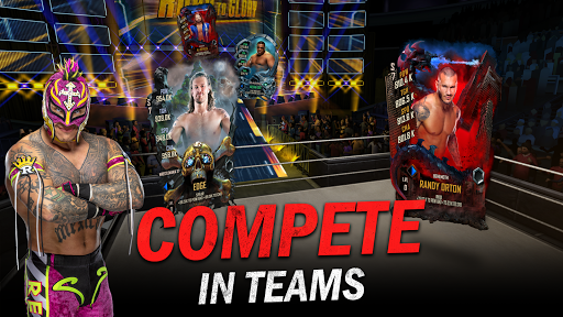 WWE SuperCard - Multiplayer Collector Card Game  screenshots 4