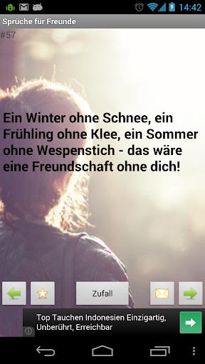 Deutsch bff sprüche Sprüche für
