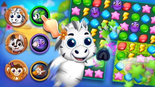 Animatch Friends - cute match 3 Free puzzle game  screenshots 6