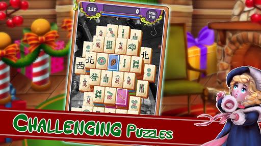 Christmas Mahjong Solitaire: Holiday Fun Apkfinish screenshots 16