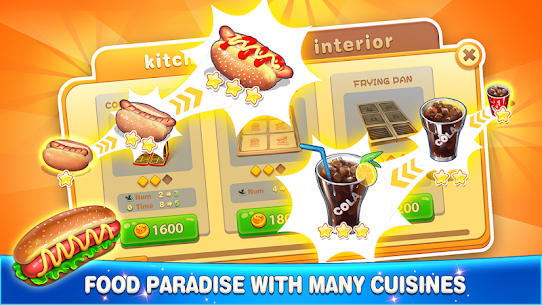 Happy Cooking: Chef Fever 1.3.0 Apk + Mod 5