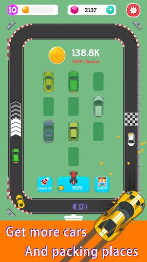 Merge Rally Car - idle racing game  screenshots 9