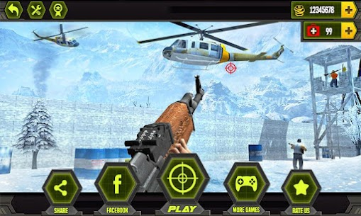 Anti-Terrorist Shooting Mission 2021 Mod Apk (Dumb Enemy) 1