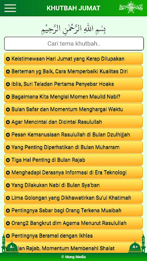 Khutbah Jumat NU modavailable screenshots 4