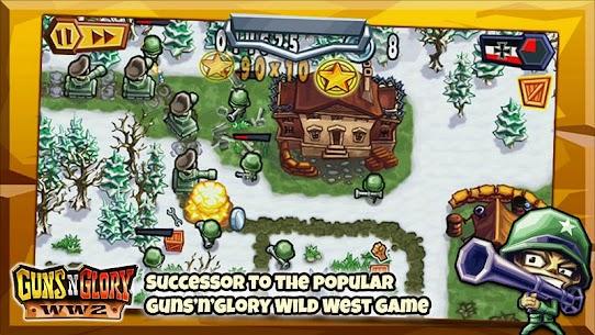 تحميل لعبة Guns'n'Glory WW2 مهكرة اخر اصدار Mod 1