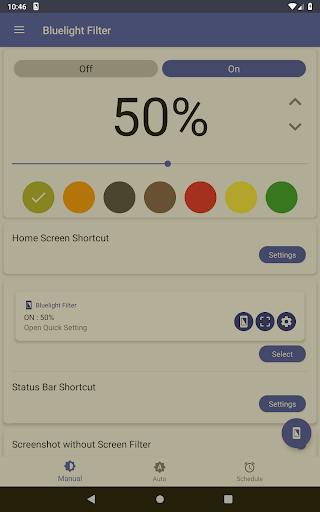 Bluelight Filter for Eye Care - Auto screen filter 3.7.1 Screenshots 10