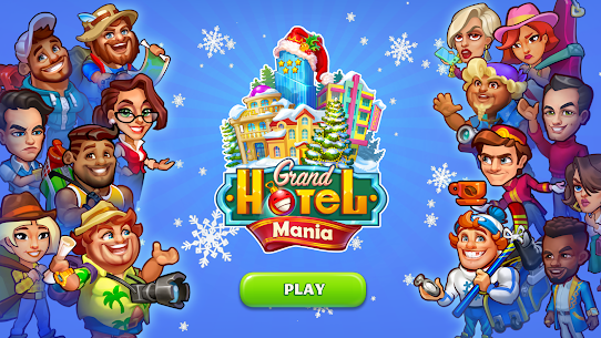 Grand Hotel Mania Mod 1.9.3.6 Apk [Unlimited Diamonds] 1