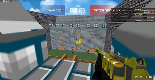 Shooting Advanced Blocky Combat SWAT  screenshots 7