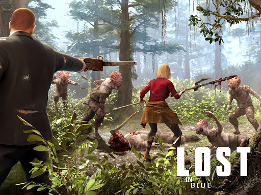 LOST in Blue: Survive the Zombie Islands  screenshots 7