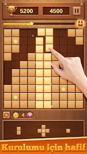 Wood Block Puzzle – Ücretsiz Klasik Zeka Oyunu Full Apk İndir 4