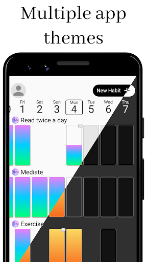 Habit Challenge - Build New Habits & Change Life modavailable screenshots 5