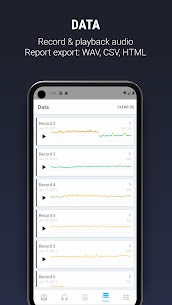 Decibel X PRO: Sound Meter dBA, Noise Detector APK 4