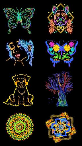 Doodle Master - Glow Art 1.0.26 Screenshots 1