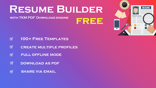 Resume Builder Free - CV Maker & PDF Download  screenshots 1