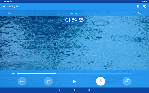 Rainy Day - Rain sounds: relax and sleep