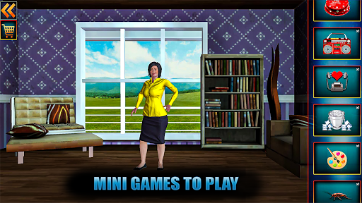 Evil Scary Teacher Creepy Game: Horror House 3D screenshots 8