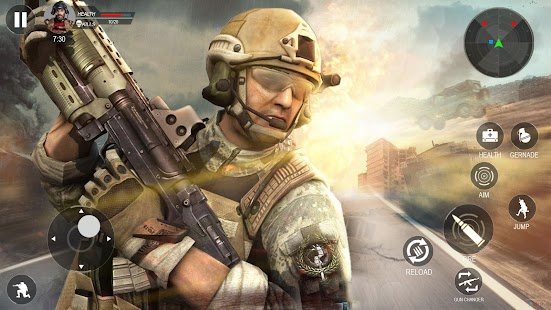 Modern Forces Free Fire Shooting New Games 2021 Screenshot
