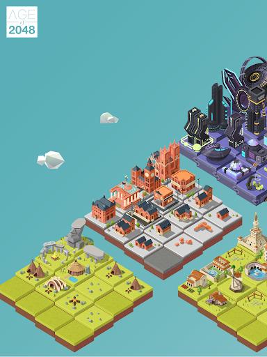 Age of 2048u2122: Civilization City Merge Games  screenshots 9