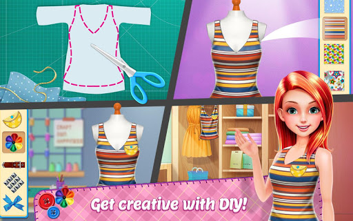 DIY Fashion Star - Design Hacks Clothing Game 1.2.3 screenshots 14