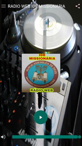 Ru00e1dio Web Ide Missionaria  screenshots 1