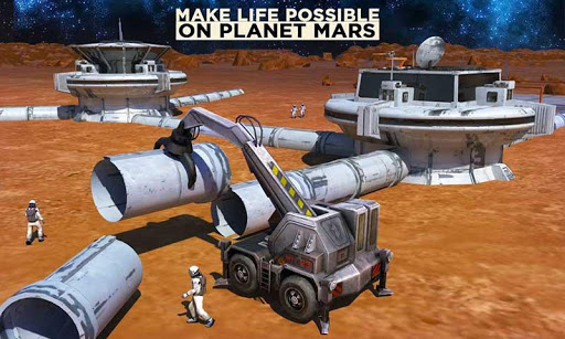 Space Station Construction City Planet Mars Colony  screenshots 1