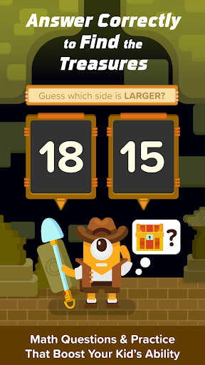 treasure adventure: numeracy screenshot 1