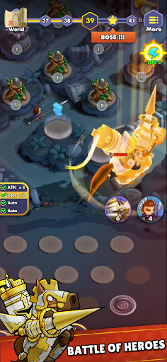 Mini War:Idle Tower Defense Varies with device screenshots 8